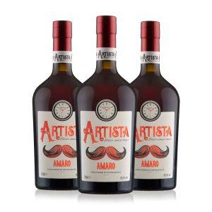 Artista Amaro box 3 bottiglie 70 cl